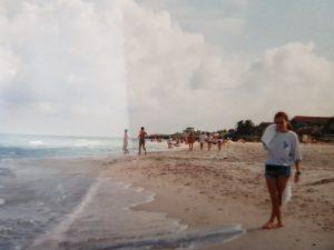 la spiaggia di Varadero\