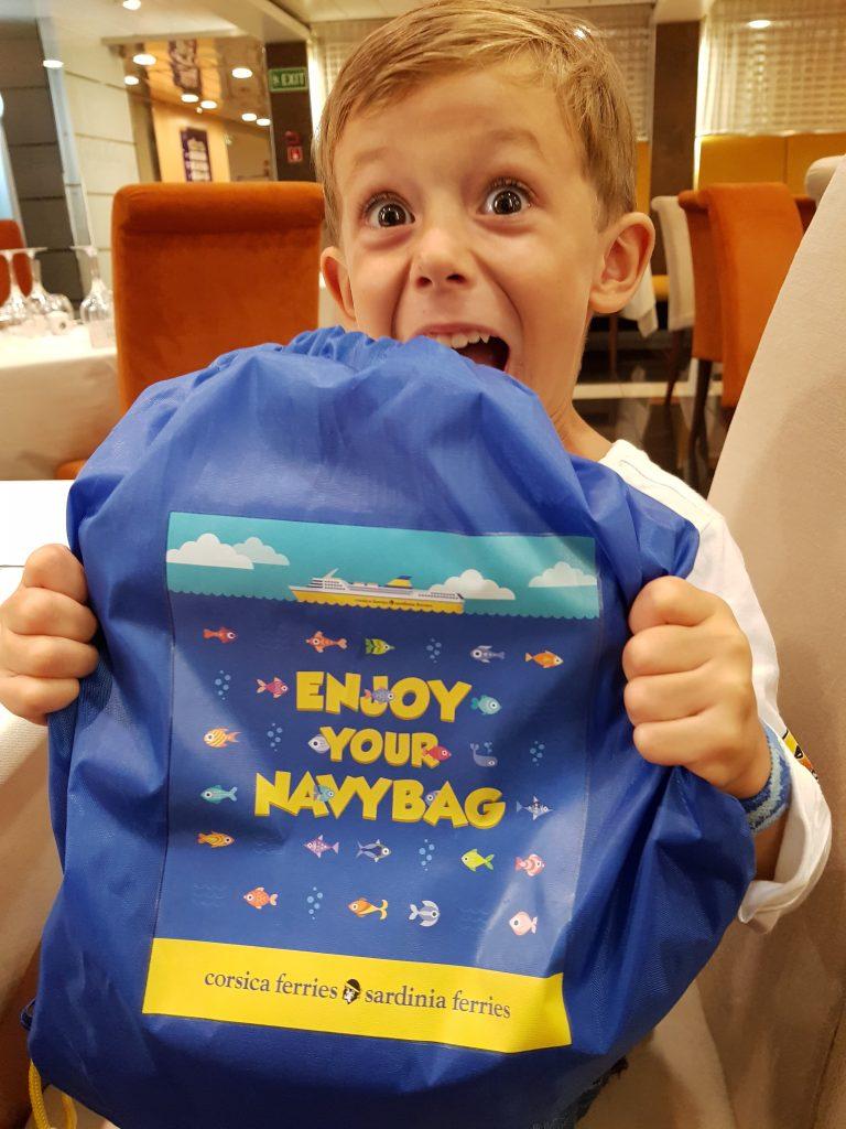 navy bag corsica ferries
