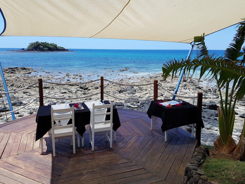 ristorante pili pili andilana beach resort