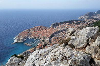 panorama di Dubrovnik