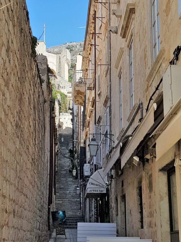 zona pedonale di Dubrovnik