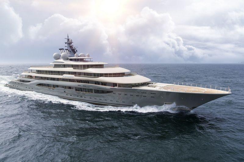 lo yacht del patron di Amazon